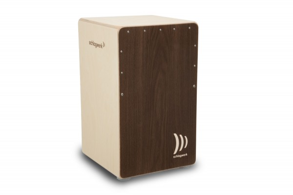 CP42Z Cajon 2inOne Aged stained Ash