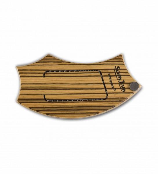 SJ110Z SamJam - Guitar Snare - Zebrano