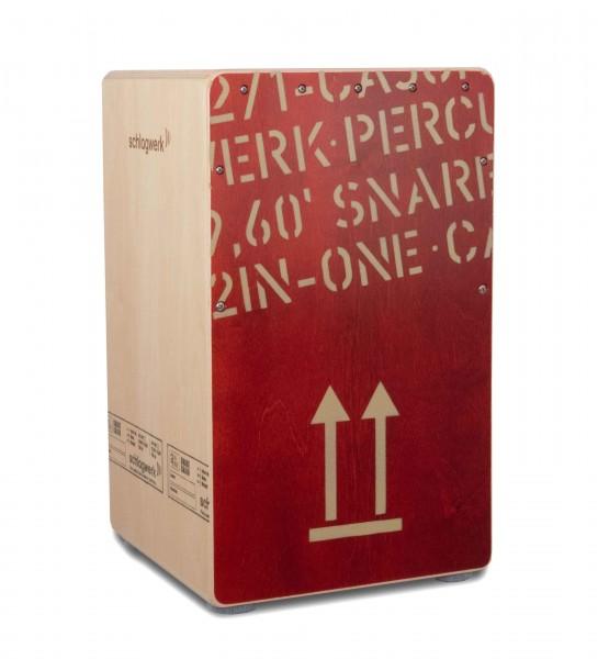 CP404RED Cajon 2inOne Red - Sondermodell