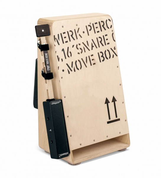 MB110 Move Box - the Walk Cajon incl. Heck Stick